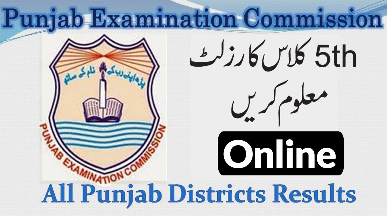 5th Class Date Sheet 2021 Punjab Board