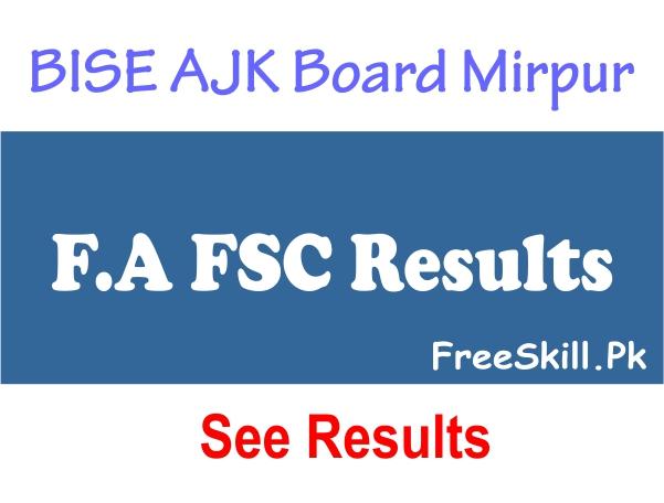 BISE AJK Board Mirpur Result 2021 Online