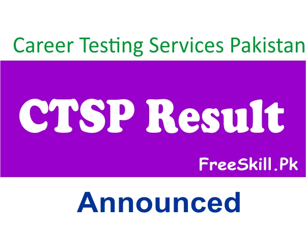CTSP Result 2021 Answer Key, Merit List