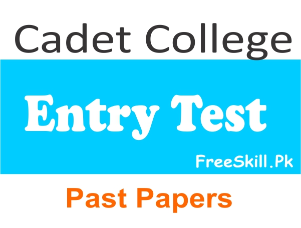 Cadet Colleges Entry Test Past Papers 2021 Download
