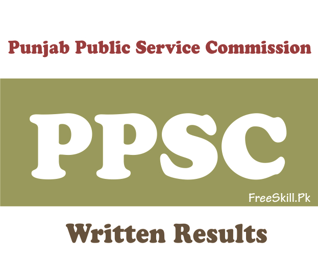 PPSC Written Test Result 2021 By CNIC