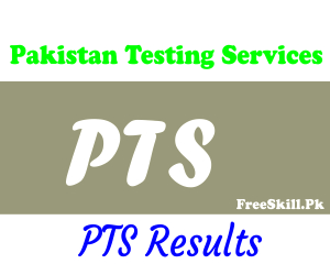 PTS Result 2021, Roll Number Slip, Merit List