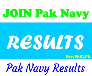 Join Pak Navy Result