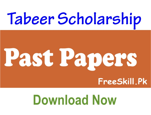 Tabeer Scholarship Past Papers Pdf Free Download