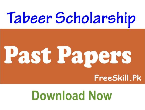 Tabeer Scholarship