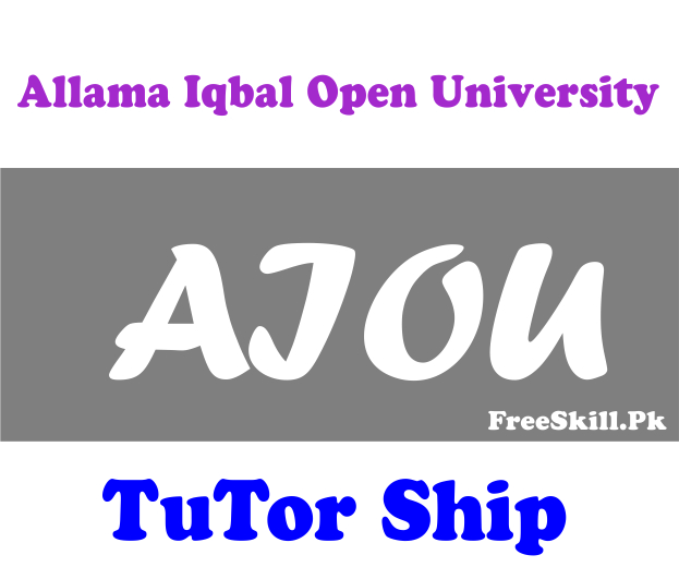AIOU Tutor Registration 2021 Jobs Application Form Download