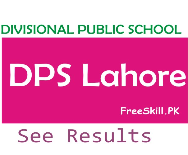 DPS Lahore Online Result Card 2021