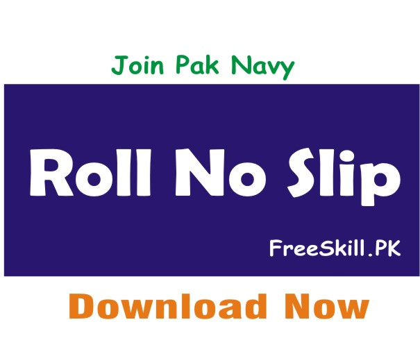 Join Pak Navy Registration Slip 2021