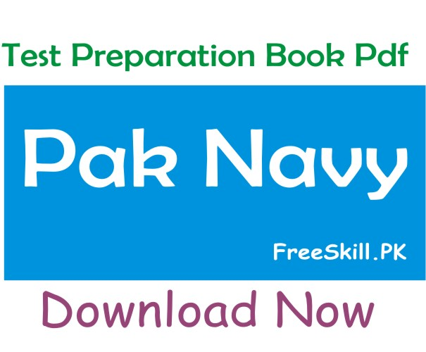 Pak Navy Test Preparation Book Pdf Free Download 2021
