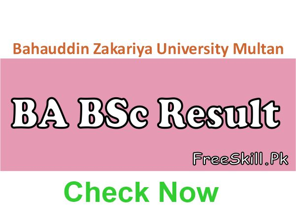 BZU BA BSc Result 2021 Expected Date