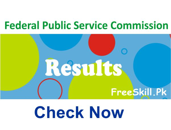 FPSC Senior Auditor Result 2021 Check