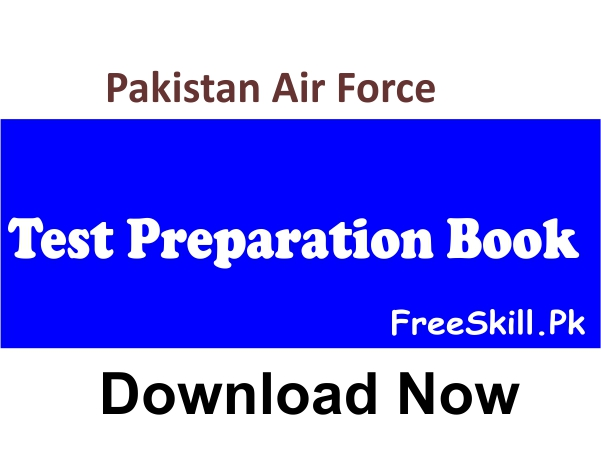 PAF Test Preparation Book 2021 Download PDF Books