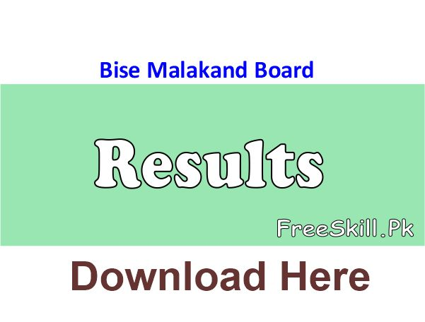 Bise Malakand Board Result