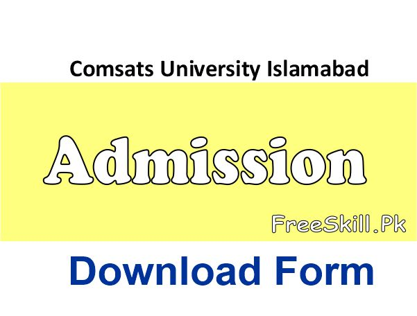 Comsats Islamabad Admission Spring 2021 Advertisement