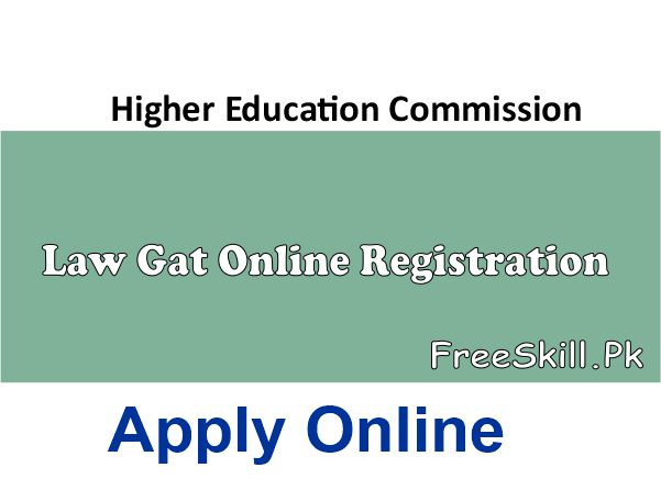 HEC Law Gat Online Registration 2021