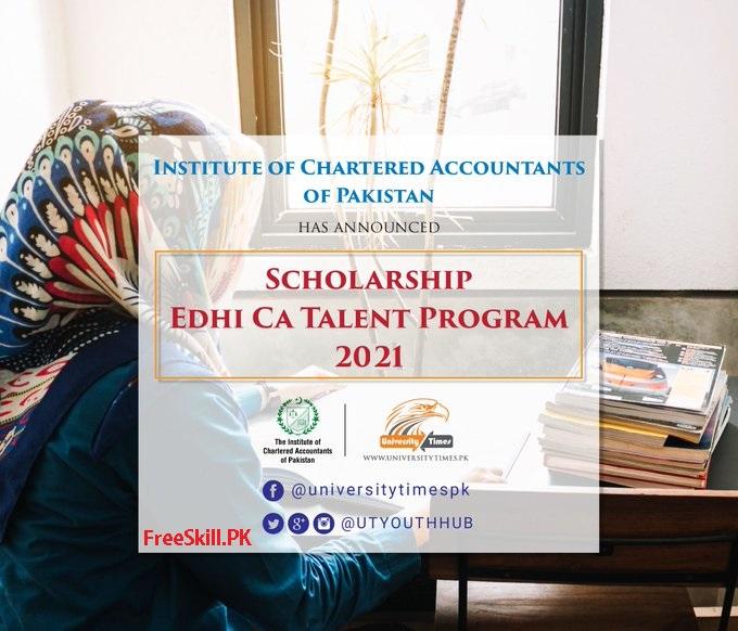 Edhi Ca Talent Scholarship
