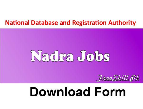 Nadra Jobs
