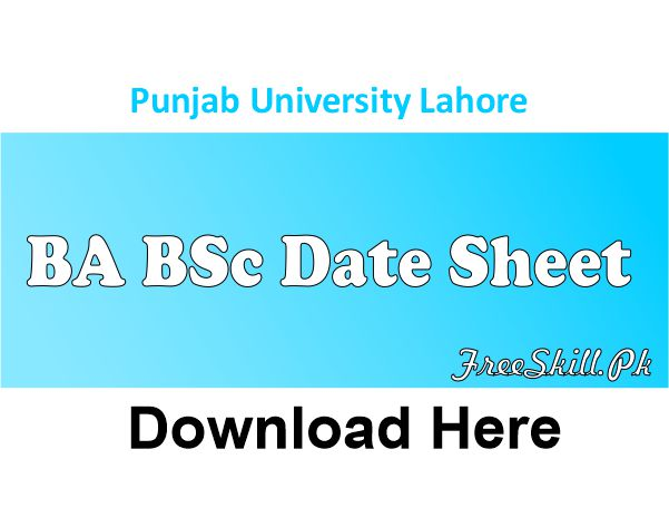 Punjab University Lahore BA