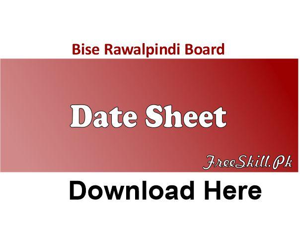 Bise Rawalpindi Date Sheet