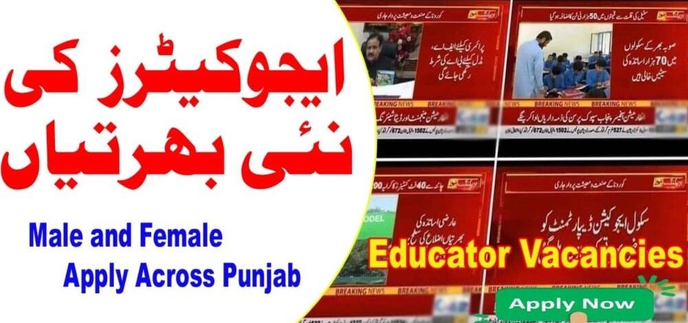 Punjab Educators Jobs