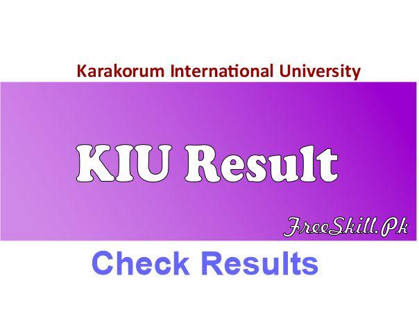 KIU Result