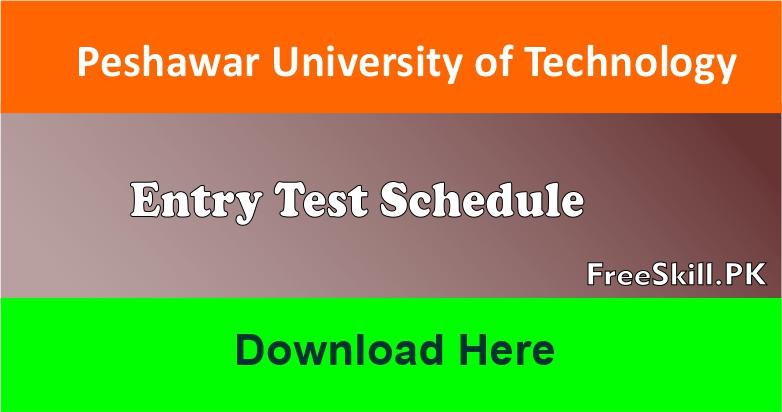 UET Peshawar Entry Test
