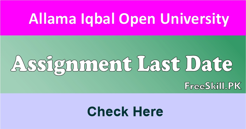 AIOU Assignment