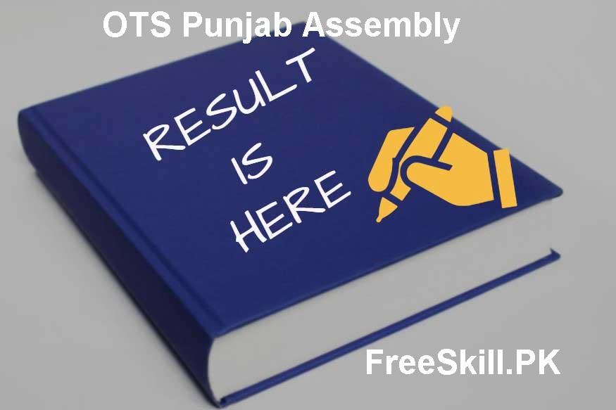 OTS Punjab Assembly Result