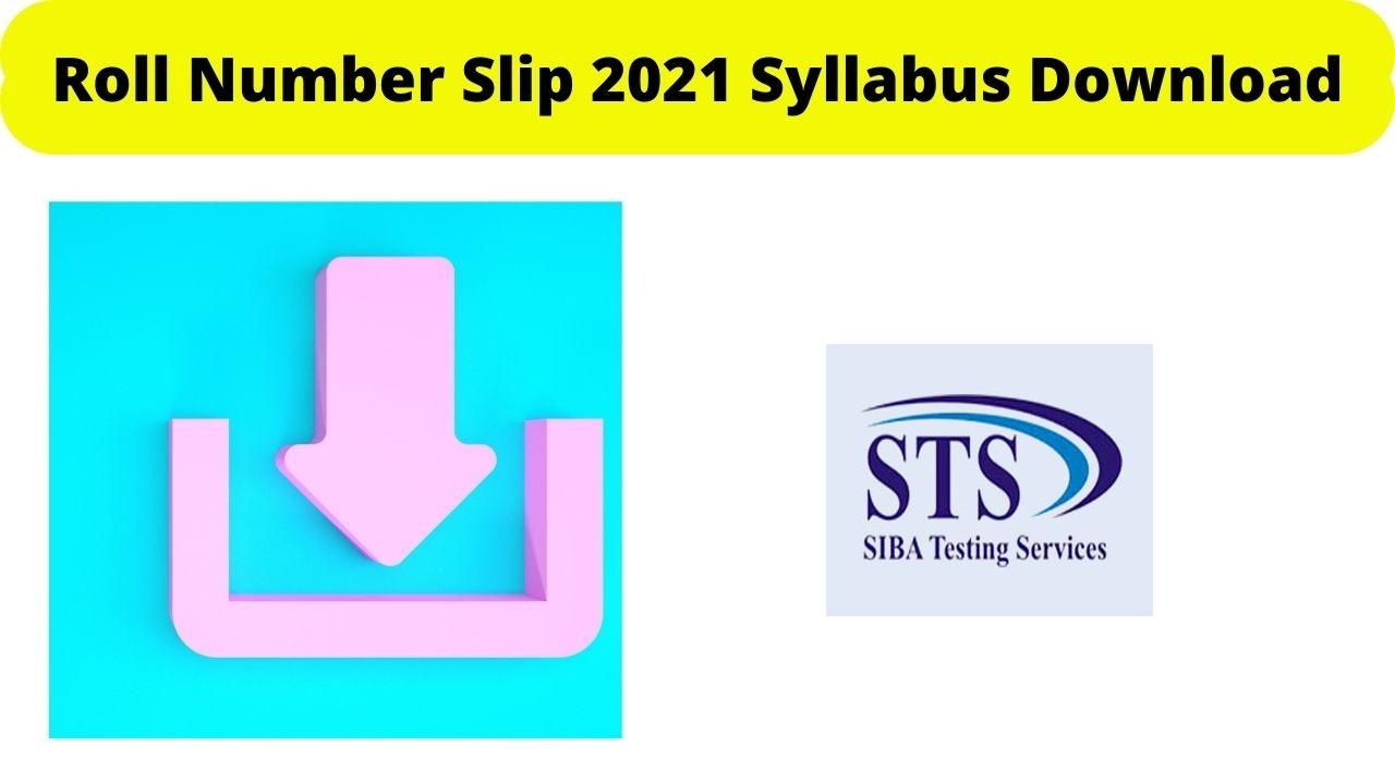 SIBA Testing Service Slip